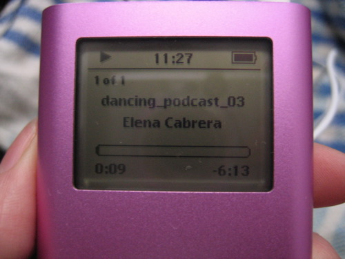 iPod con podcast