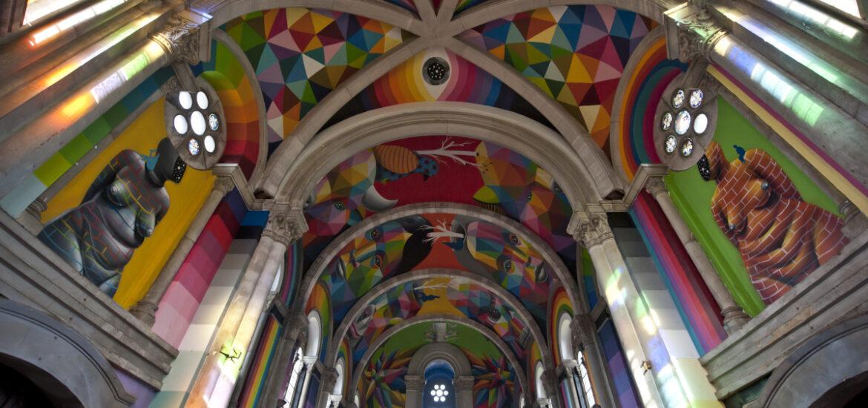 Kaos Church de Okuda San Miguel. Foto Elchino Po