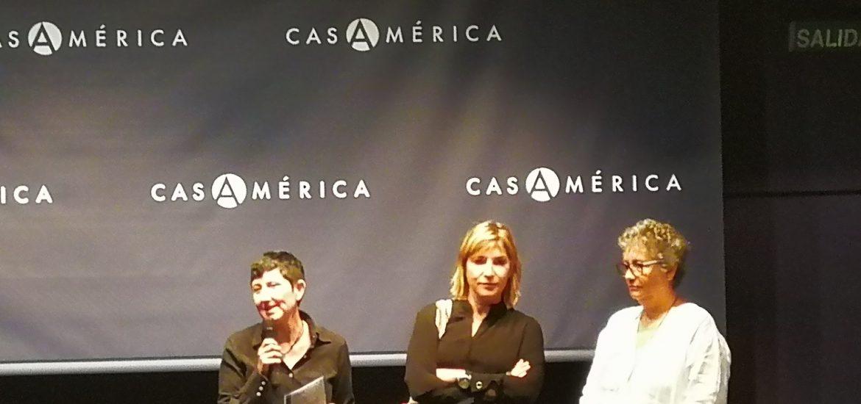 Lula Gómez y Patricia Guerrero son presentadas en Casa América, el 25 de abril. Foto / Libros.com
